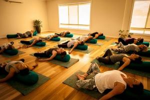 Relaxing Yogi's