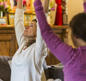 The healing and benefits of Yoga in the Elements Yoga studio in Belmont