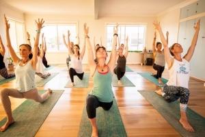 Yoga in Elements Studio in Belmont, Geelong