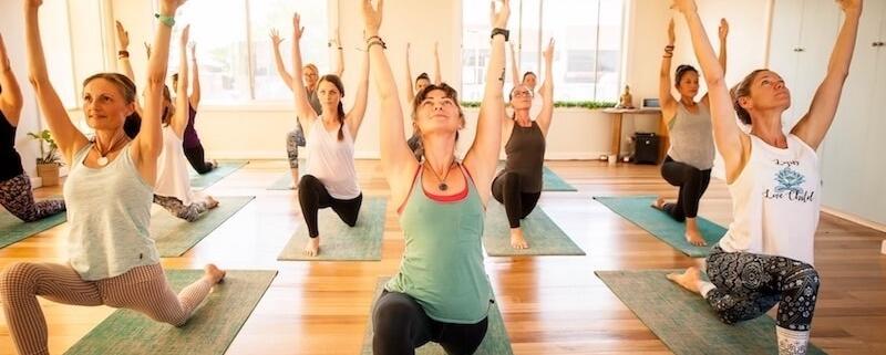 Practice in Yoga Geelong Elements studio Belmont